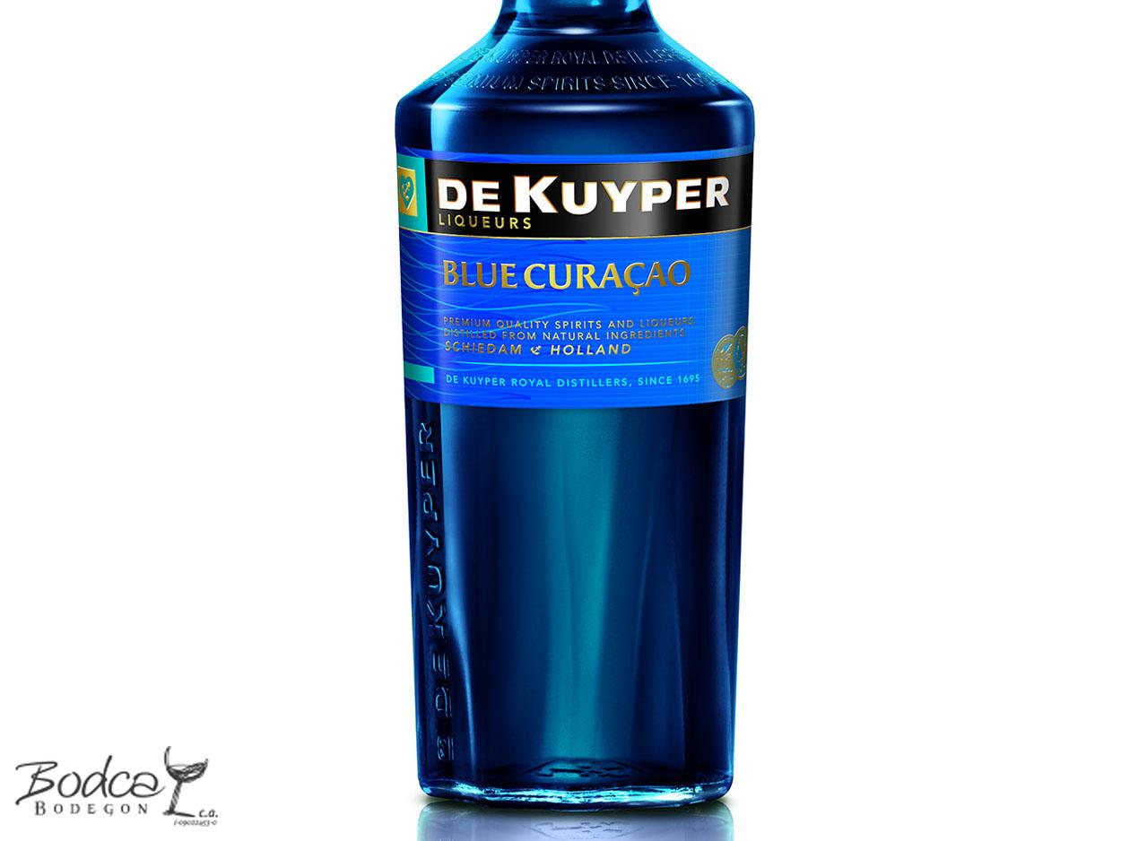 Etiqueta De Kuyper Blue Curaçao Blue Curaçao Licor De Kuyper Blue Curaçao Blue Curacao etiqueta