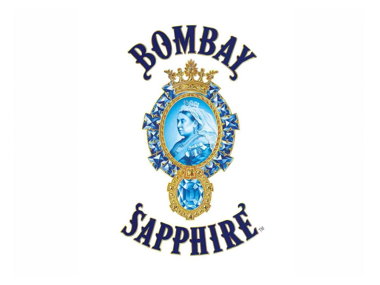 Logo Bombay Sapphire London Dry Gin bombay sapphire london dry gin Ginebra Bombay Sapphire London Dry Gin Bombay Sapphire Gin logo