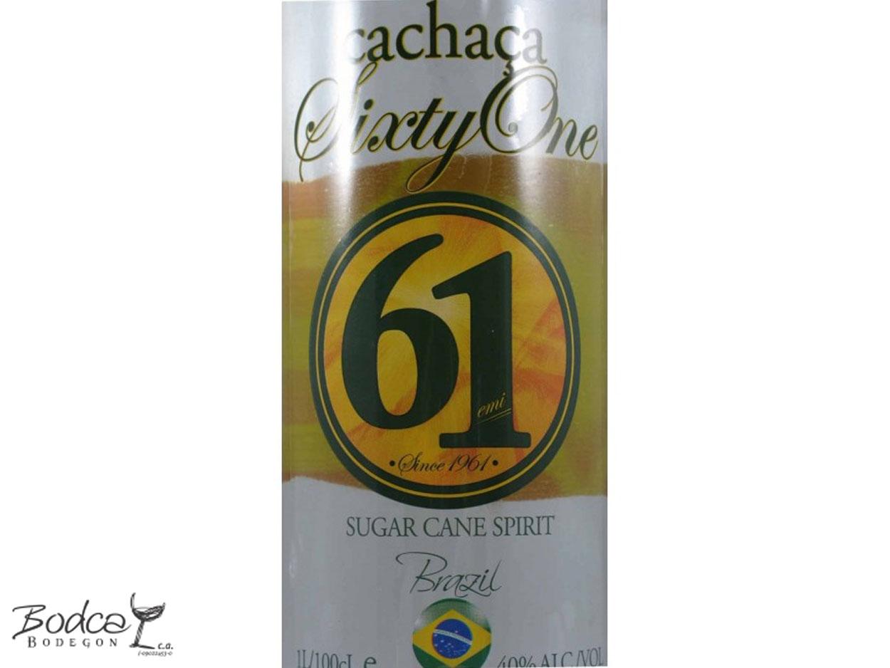 Etiqueta Cachaça 61 SixtyOne cachaça 61 sixtyone Cachaça 61 SixtyOne Cachaca SixtyOne etiqueta