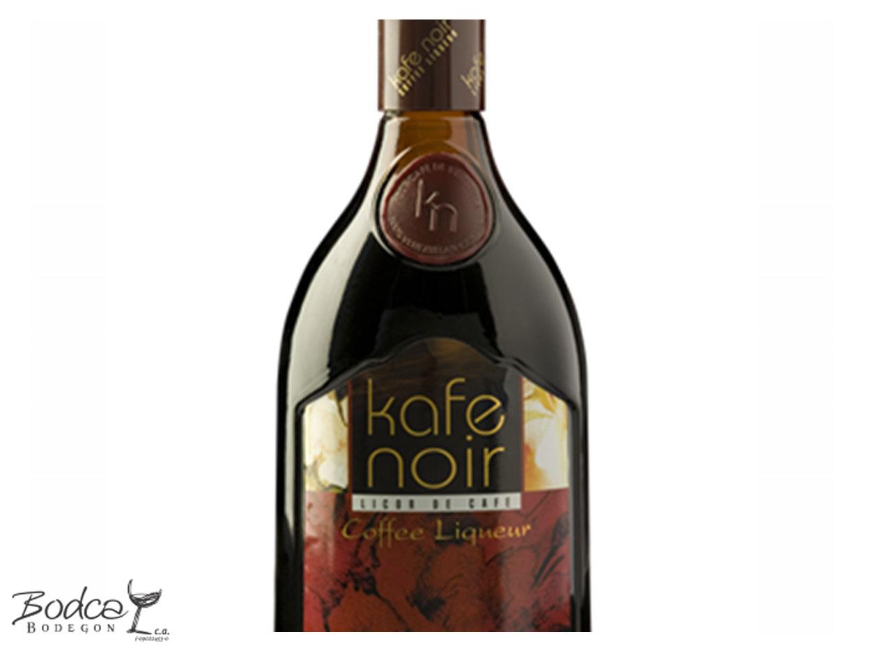 Etiqueta Kafe Noir kafe noir Kafe Noir Coffee Liqueur Kafe noir etiqueta