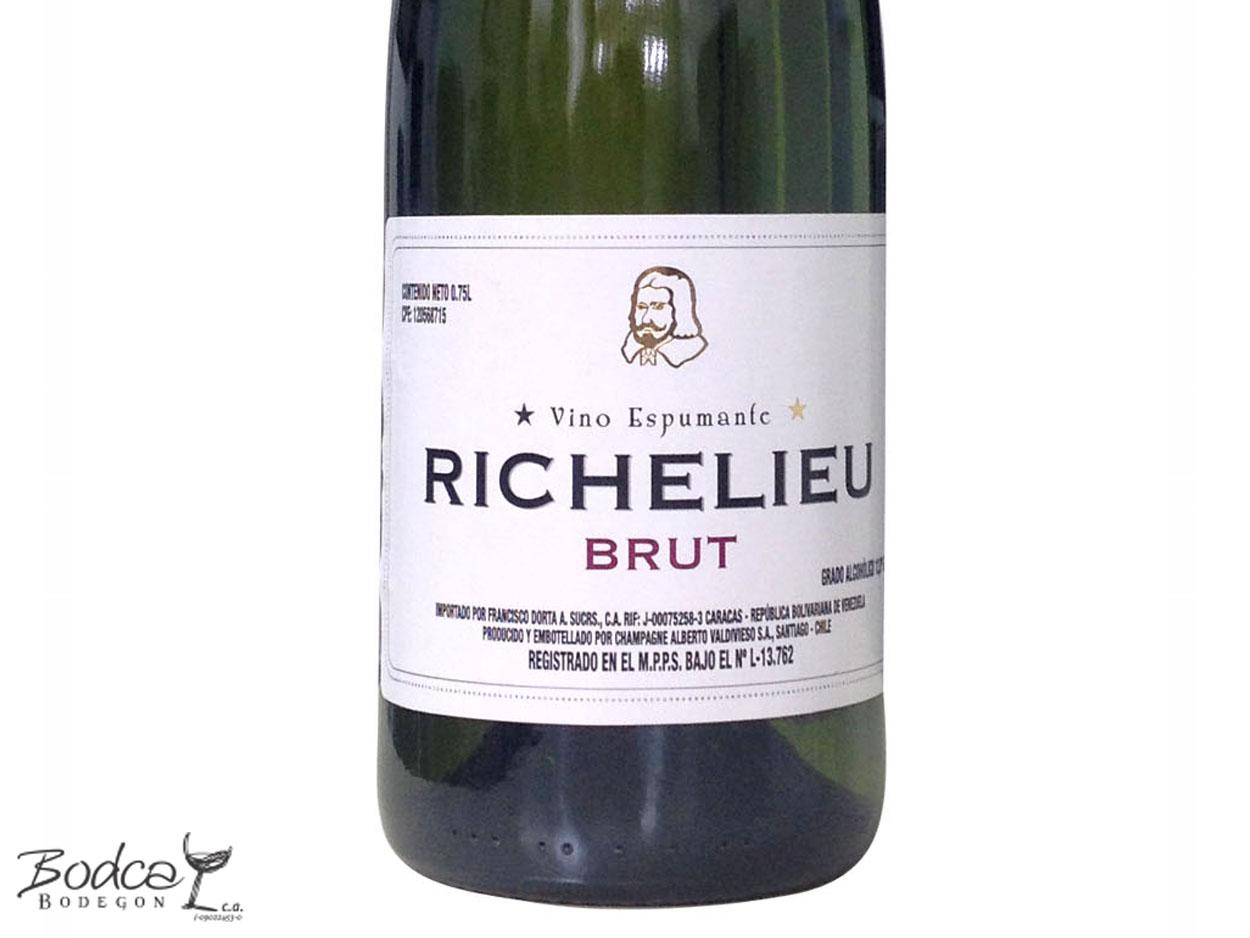 Etiqueta Richelieu Brut Richelieu Brut Vino Espumoso Richelieu Brut Richelieu Brut etiqueta