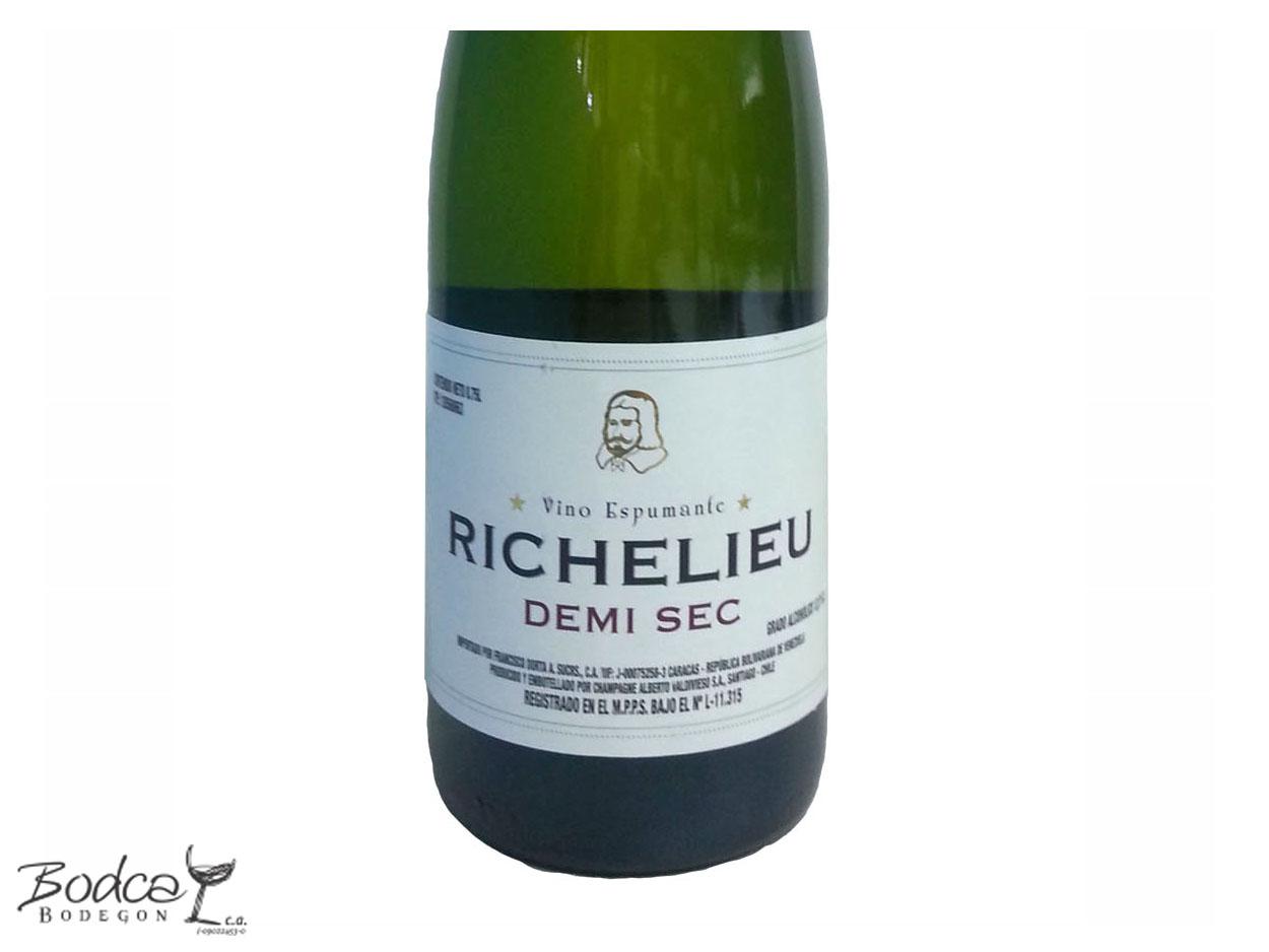 Etiqueta Richelieu Demi Sec Richelieu Demi Sec Vino Espumoso Richelieu Demi Sec Richelieu DemiSec etiqueta