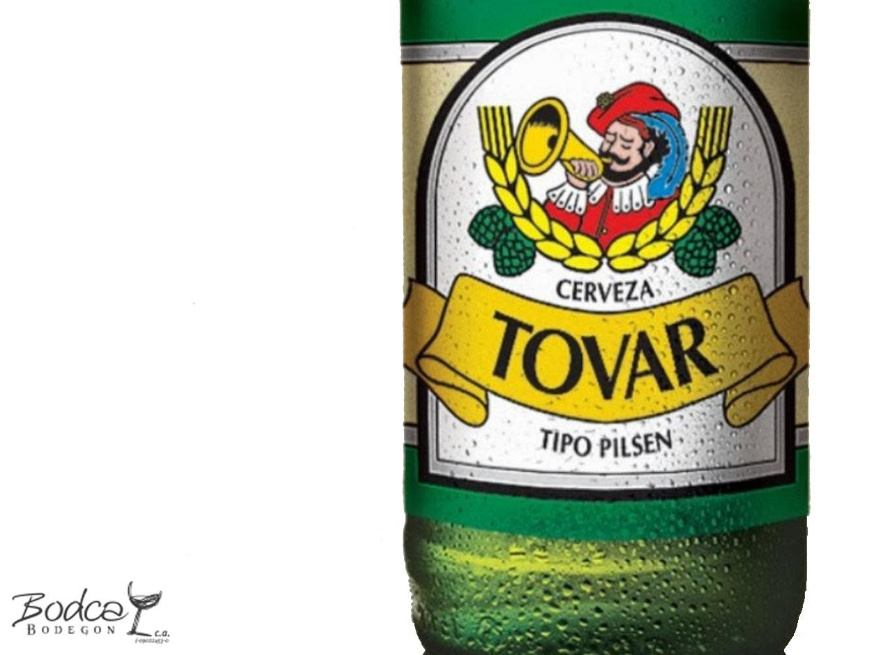 Etiqueta Cerveza Tovar Pilsen