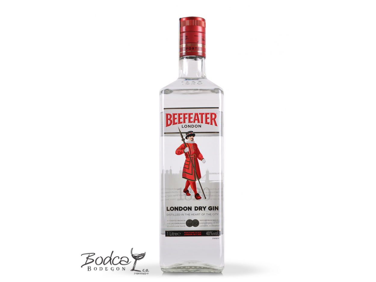 Beefeater London Dry Gin Beefeater Ginebra Beefeater Beefeater