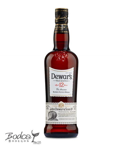 Whisky Dewar's 12 años