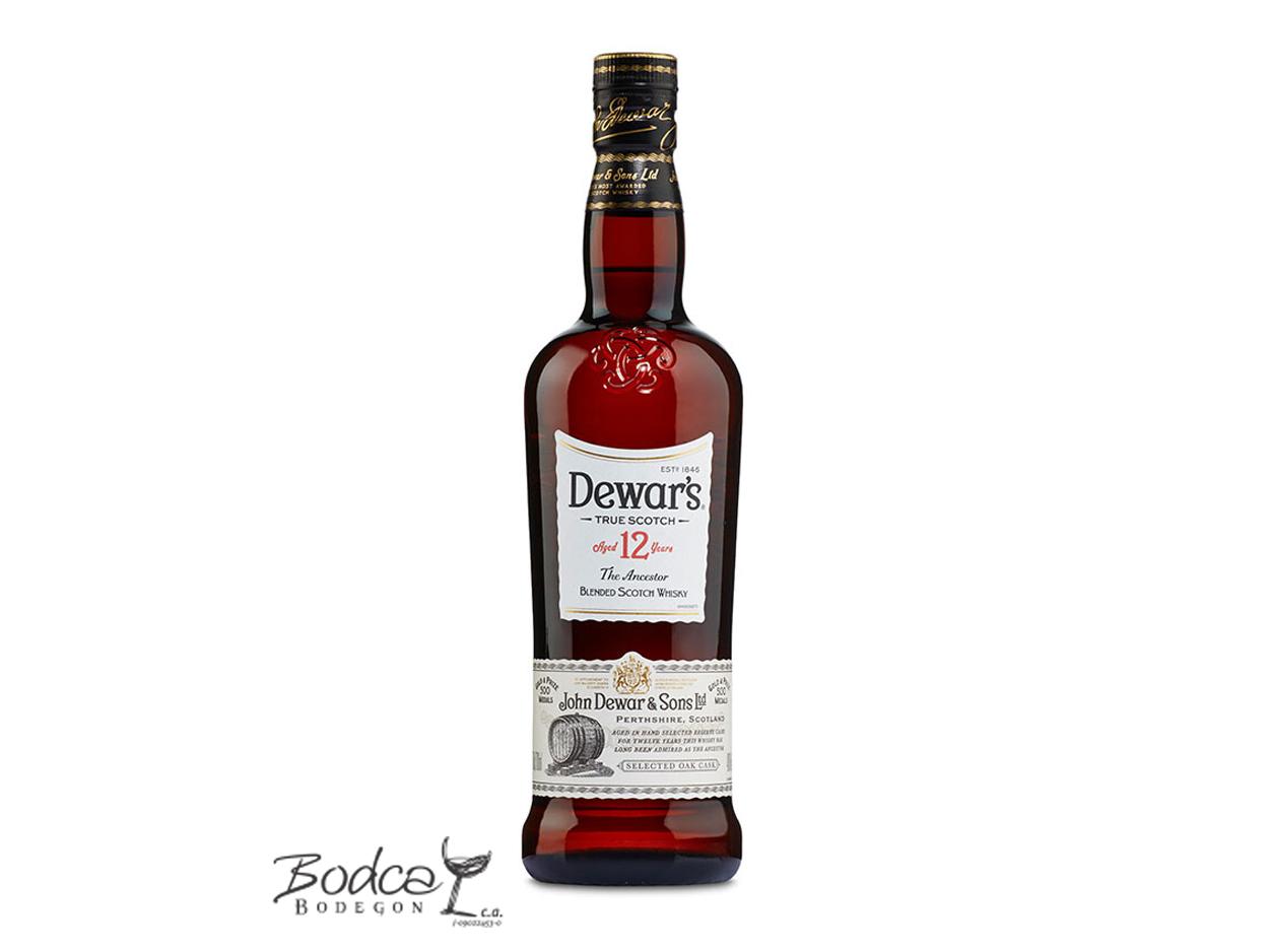 Whisky Dewar's 12 años dewar's 12 años Whisky Dewar's 12 años Dewars 12