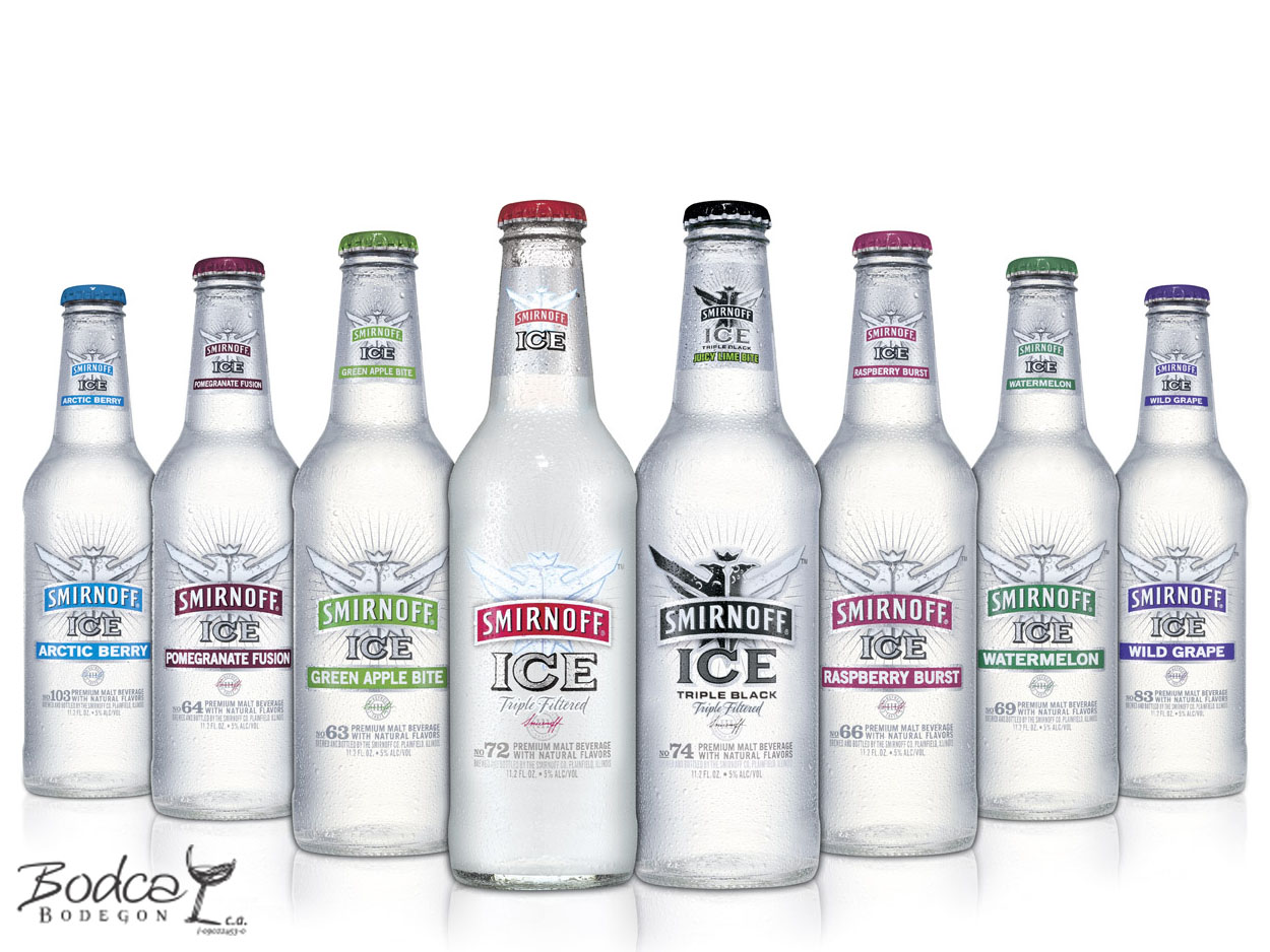 Smirnoff Ice sabores smirnoff Vodka Smirnoff Smirnoff  ice sabores