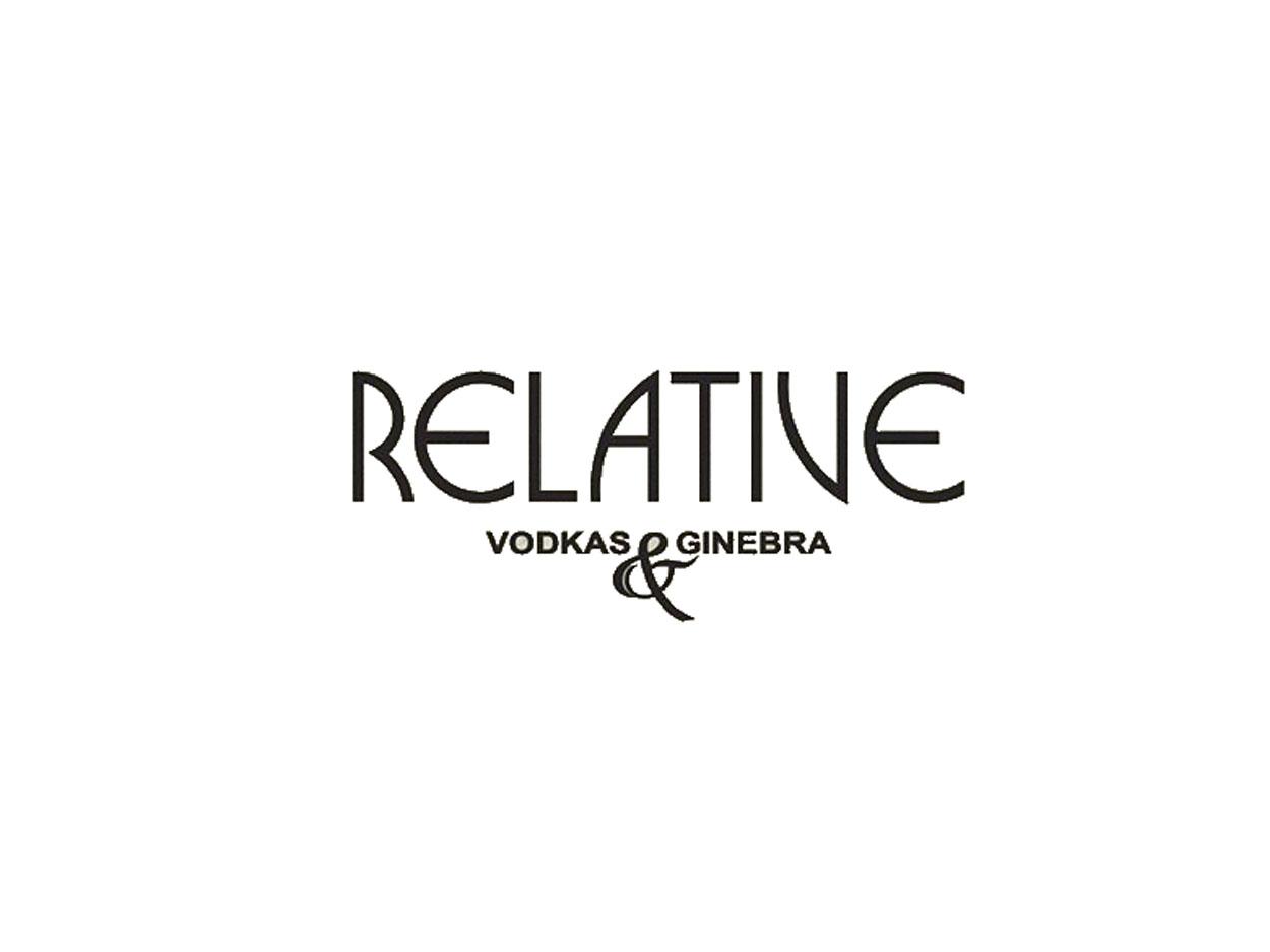 dry gin relative Ginebra Dry Gin Relative Relative logo