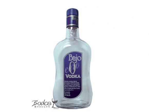 bajo 0 Vodka Bajo 0 Vodka Bajo Cero 580x435