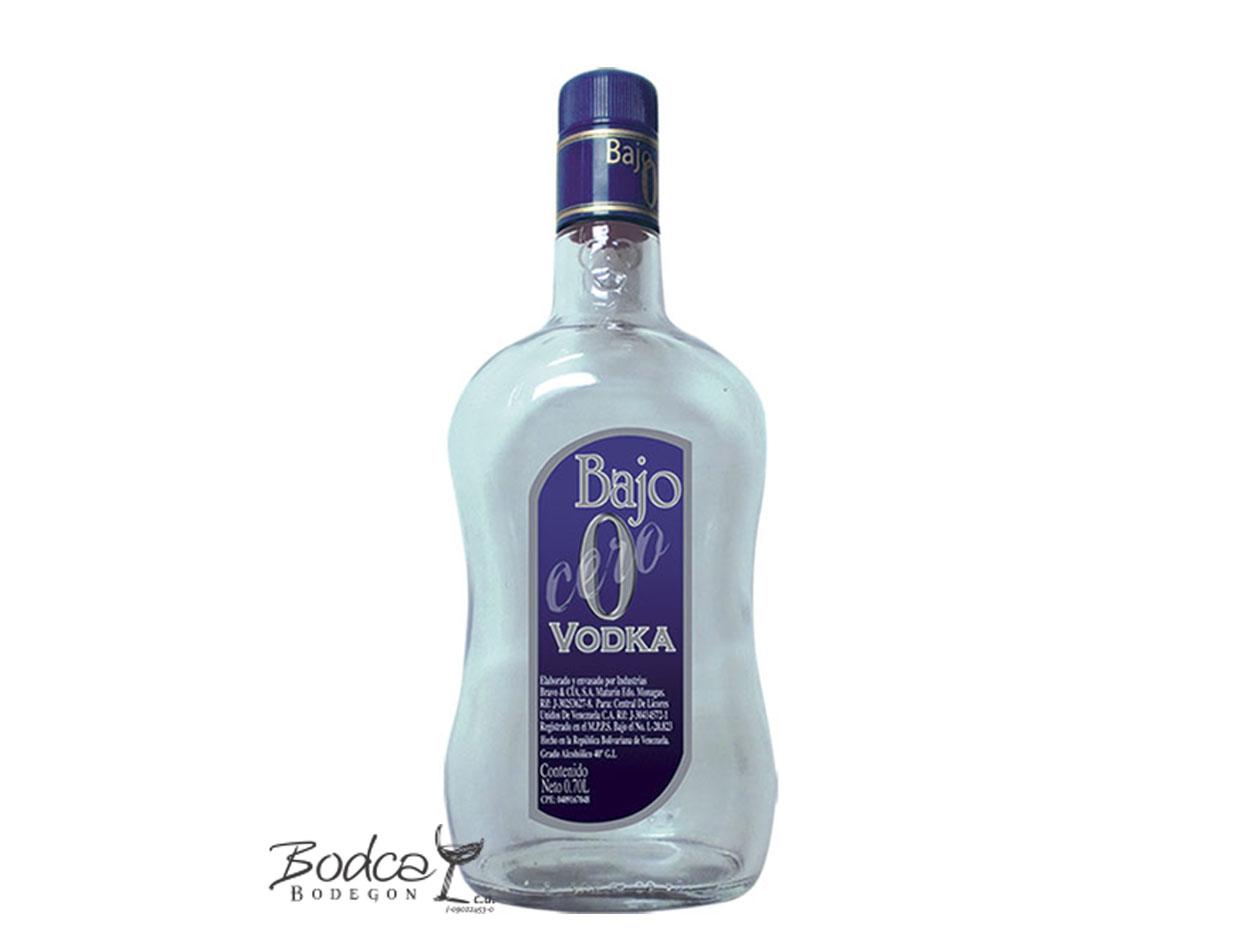 Vodka Bajo 0 bajo 0 Vodka Bajo 0 Vodka Bajo Cero