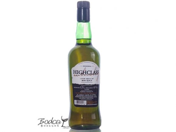 HighClass licor de Whisky