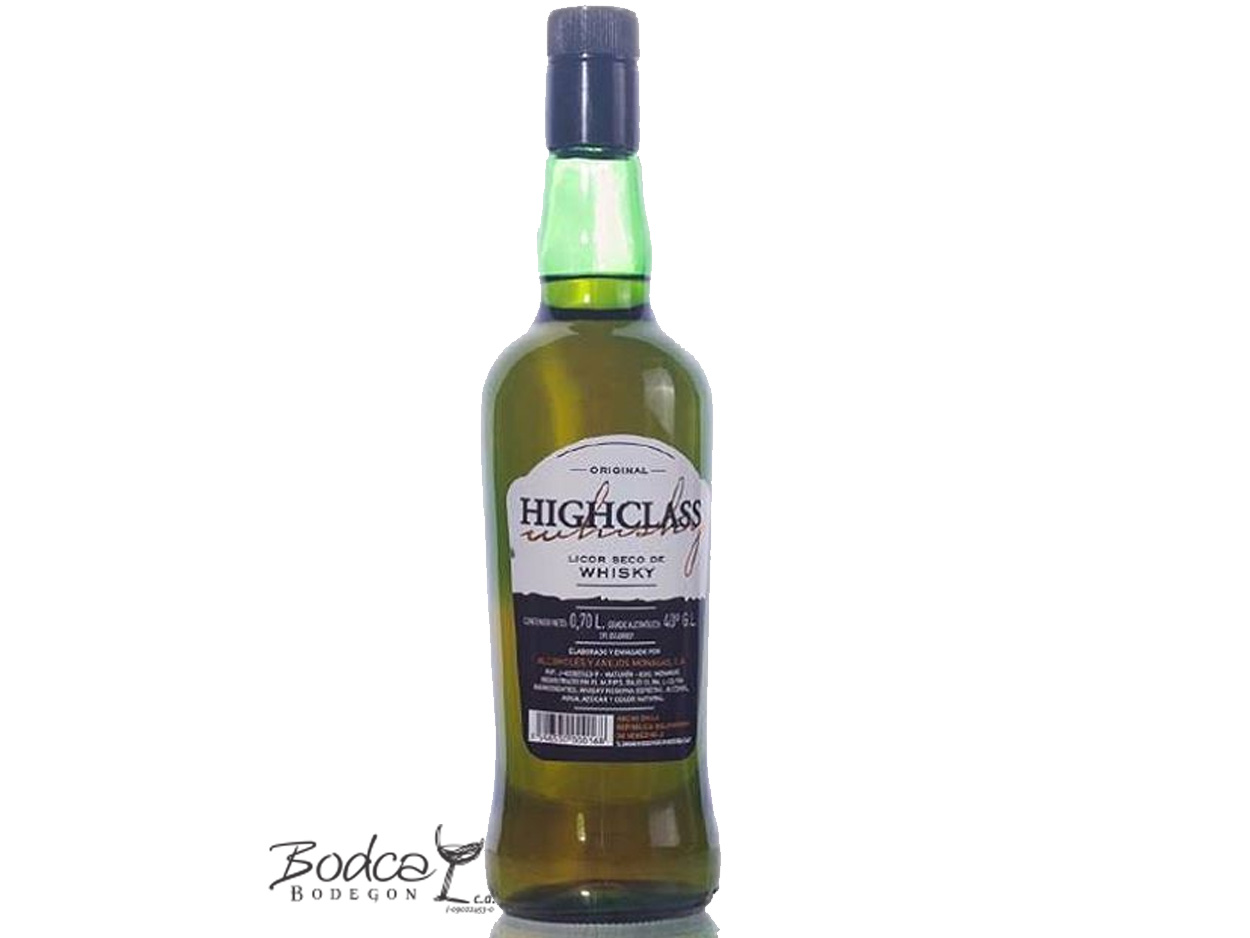 HighClass licor_de_Whisky