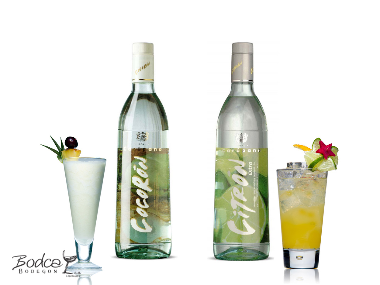 Cócteles Carúpano Mix (Piña Colada y Citron Limón) carúpano mix Ron Carúpano Mix Car  pano Mix c  cteles2