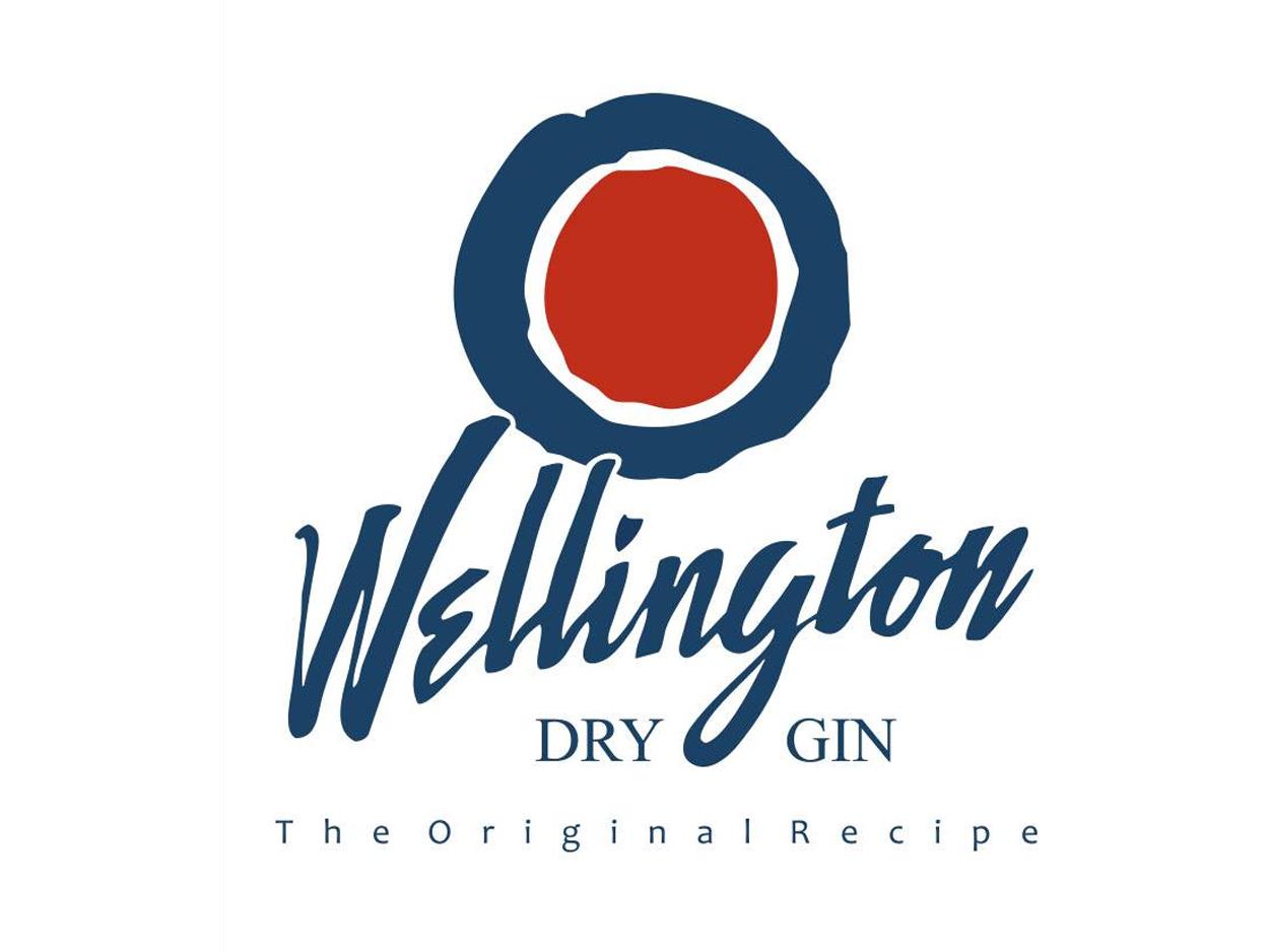 Wellington Dry Gin logo Wellington Dry Gin Wellington Dry Gin Wellington logo