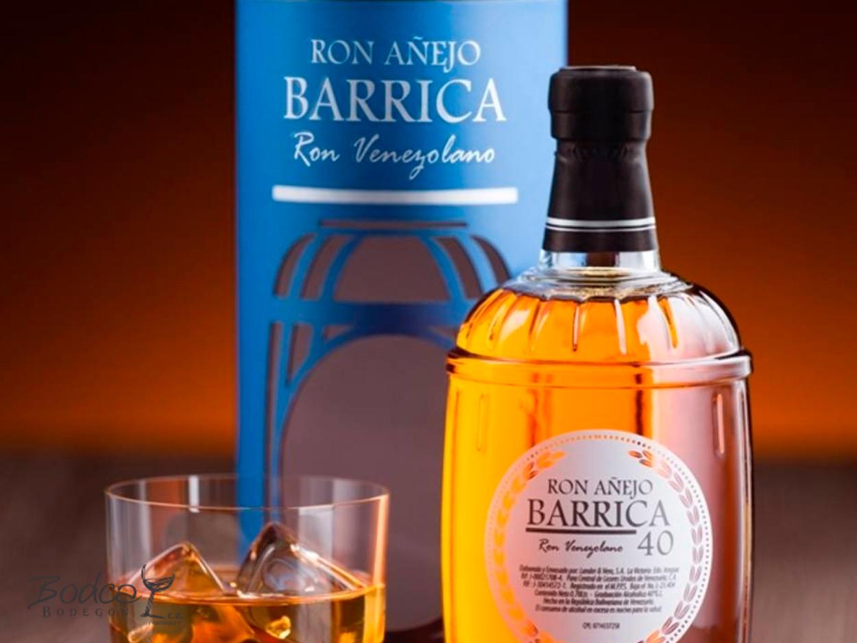 Barrica 40 Ron Barrica 40 Barrica 40 botella