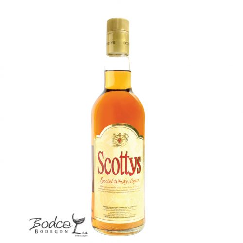 Licor seco de whisky Scottys