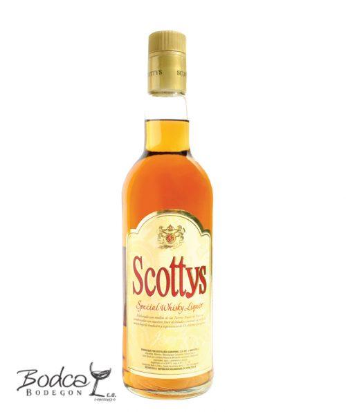 Licor seco de whisky Scottys