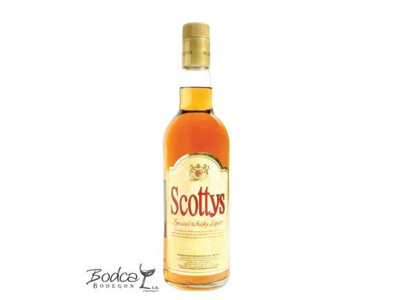 Licor seco de whisky Scottys scotty's Licor de whisky Scotty's Scottys 580x435
