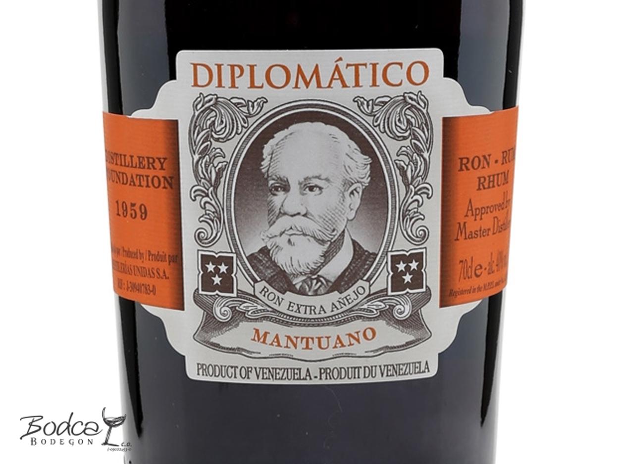Diplomático Mantuano etiqueta diplomático mantuano Ron Diplomático Mantuano Diplomatico Mantuano etiqueta