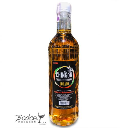 Licor de ron Chingon