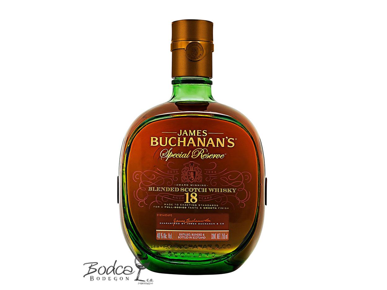 Buchanan's Special Reserve 18