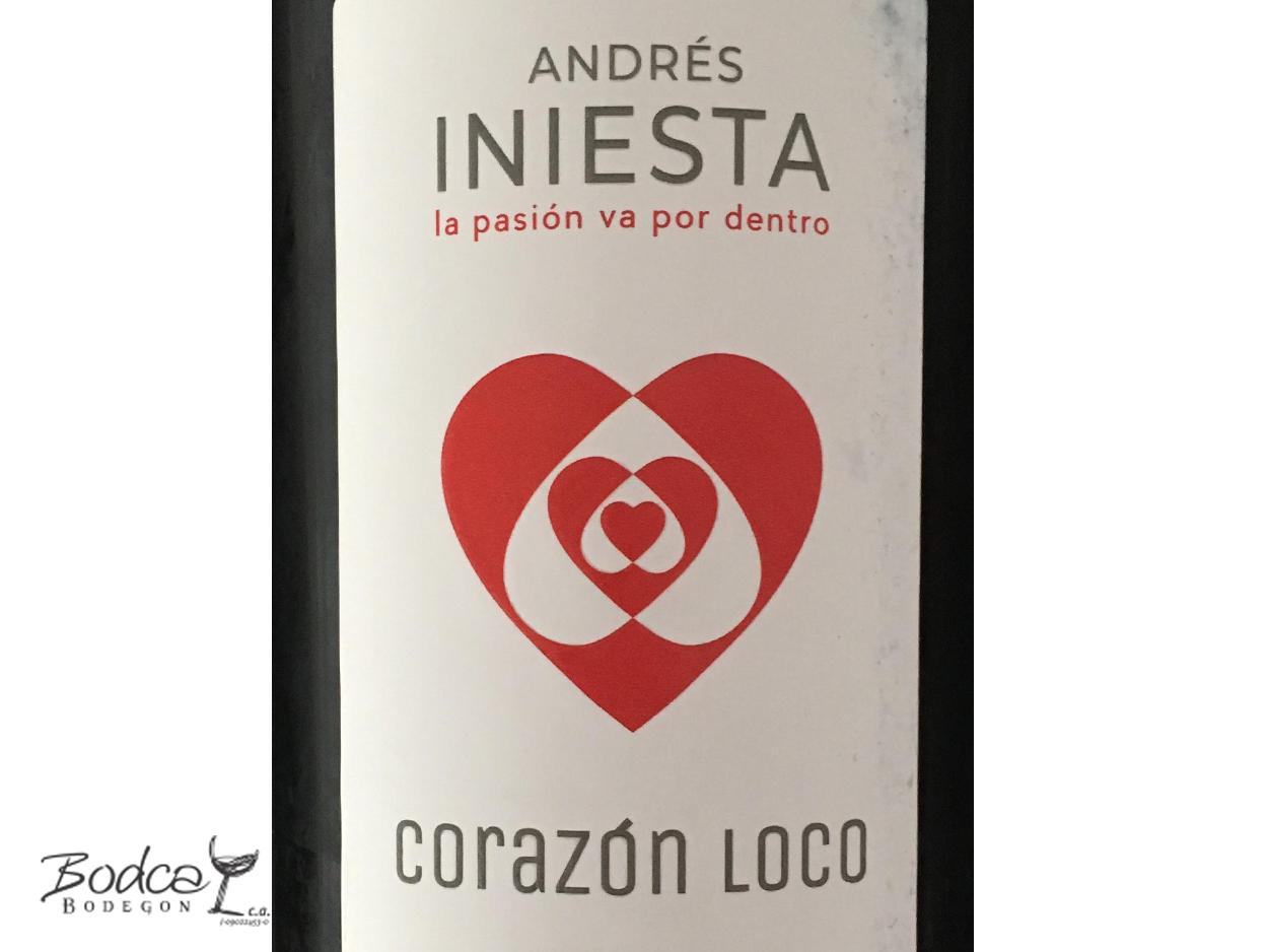 Corazón Loco Tinto etiqueta