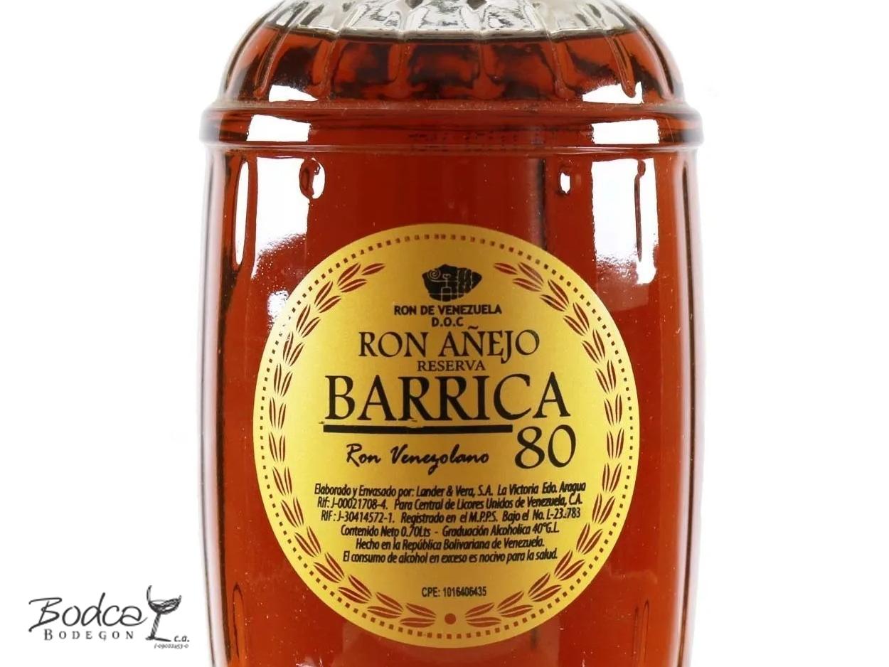 Ron Barrica etiqueta