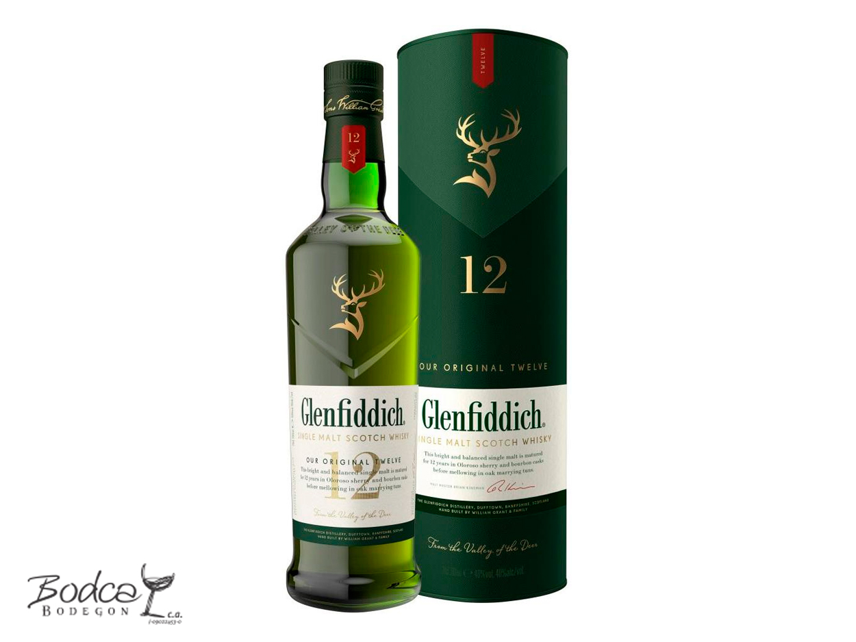 whisky Glenfiddich 12