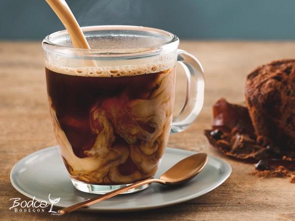 Café caliente Baileys